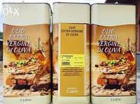 Оливковое масло Olio Extra Vergine 5 л екстра вирджини нерафинированное