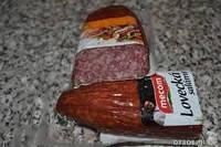 Колбаса Салями salám Vijofel Lovecky ловецка салями из оленины 1шт- 500 гр