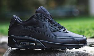 """Кроссовки Nike Air Max 90 """"Черные"""", фото 2"""