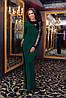 Платье женское ,крупная пришивная пайетка с одной стороны, фото 2