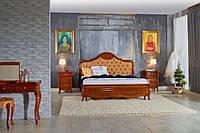 Кровать 1600 (ткань) круглое изг.