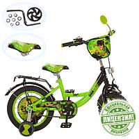 Детский двухколесный велосипед 12 дюймов BN 0038 Ben 10