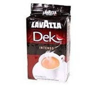 Кофе молотый Lavazza Dek Decaffeinato Intenso 250 гр. без кофеина 70% Арабика, 30% Робуста