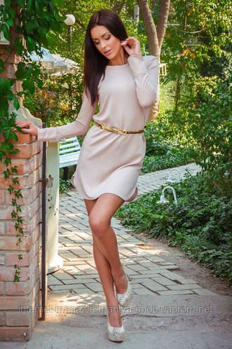 Платье женское цвет