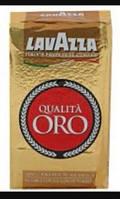 Кофе молотый Lavazza Qualita Oro 250 гр, кава мелена Лавацца 100%арабика