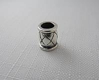Бусина ШАРМ серебро 925* , фото 1