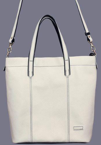 Шикарная женская сумка из натуральной кожи VATTO Wk43 Fl6, белый