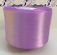Лента атласная цвет №16(125) (сиреневый) шириной 5 см