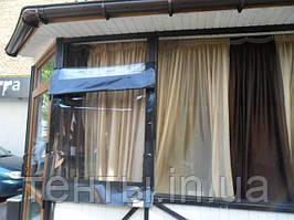 Прозрачные шторы ПВХ для летних площадок, беседок и террас 2016