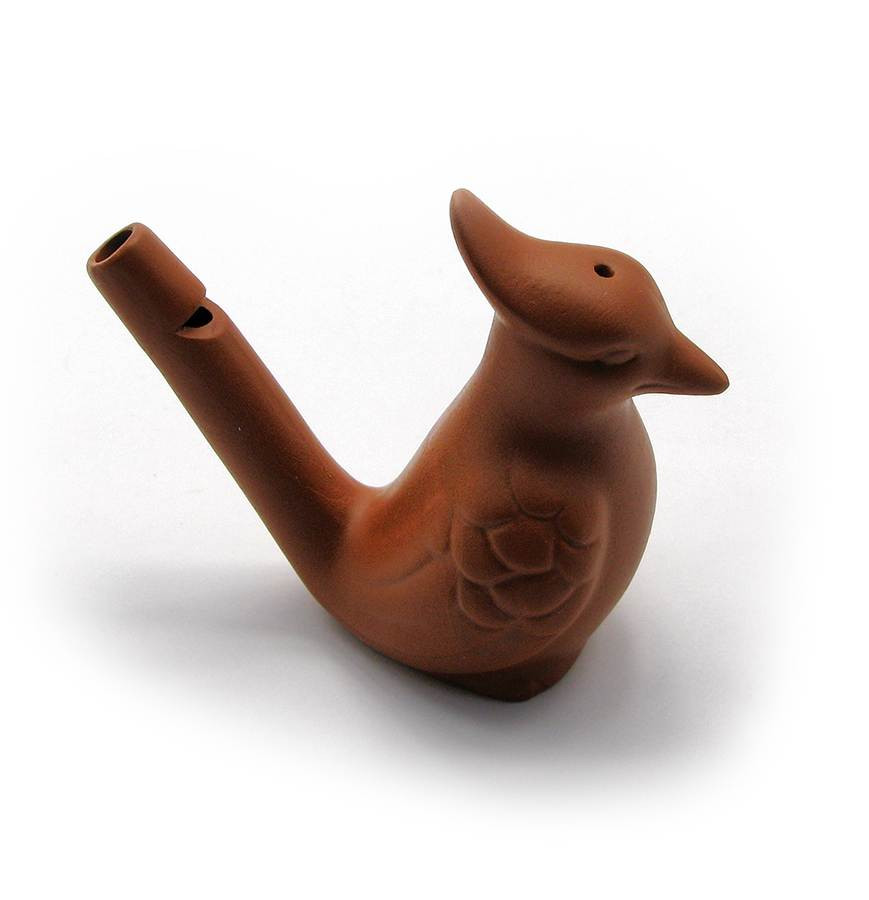 Свистулька Птичка глиняная