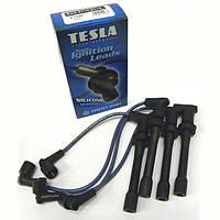 Провода высоковольтные Tesla ВАЗ НИВА 2121 1.6, МОСКВИЧ 1.6 двигатель, ВАЗ 2106 п/силикон TS T340H