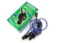 Провода высоковольтные Tesla МОСКВИЧ 412, 2140, 2137 1.5 двиг. UZAM 412 п/силикон TS T634H