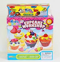 Набор для лепки (пластилин) Вкусные кексы Cupcake workshop Kid's Dough