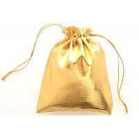 Золотой мешочек для украшений