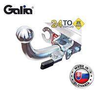 Фаркоп оцинкованный на Peugeot 307, 308, Citroen C4, 2004-10, 2010-..., хэтч, автомат (Galia, Словакия), Пежо 307