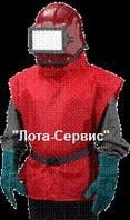 """Шлем оператора абразивно-струйной очистки """"Кивер-1"""""""