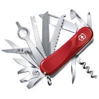 Нож складной, мультитул Victorinox EVOLUTION 28 (85мм, 23 функций), красный 2.5383.E