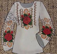 Блуза для женщин (заготовка для вышивания из натуральных тканей),44-56 р-ры, 380/355 (цена за 1 шт. + 25 гр.)