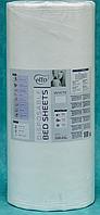 Простынь одноразовая Etto в рулоне, СМС (уплотненный спандбонд) 0,6х500 м., белый