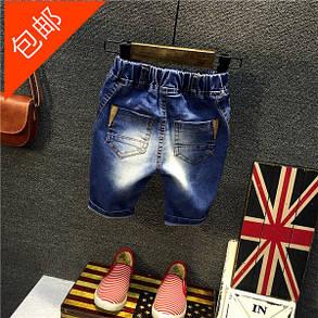 Дитячі шорти джинсові класичні, фото 2