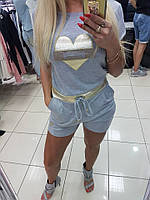 Комбинезон женский Paparazzi Fashion серый