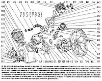 Деталировка компрессорного блока V-90