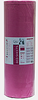 Простынь одноразовая Etto в рулоне, СМС (уплотненный спандбонд)  0,8х500 м., розовый