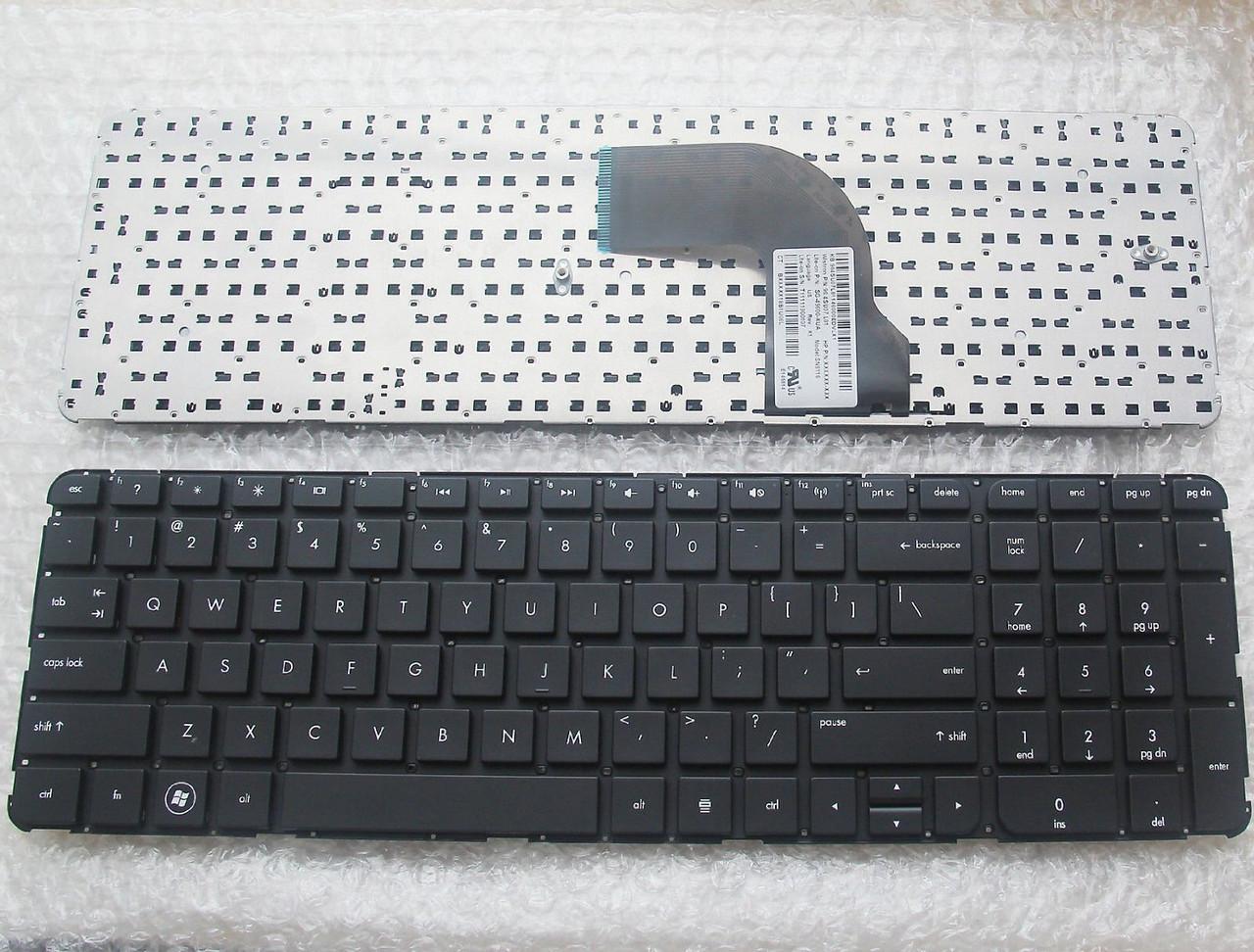 Клавиатура для ноутбука HP (Pavilion: dv7-7000; Envy: m7-1000) rus, black, without frame