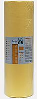 Простынь одноразовая Etto в рулоне, СМС (уплотненный спандбонд)  0,8х500 м., желтый