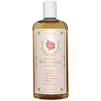 Madre Labs, Натуральный тоник с гаммамелисом, лепестки роз, для лица, без алкоголя (без спирта), 355 мл