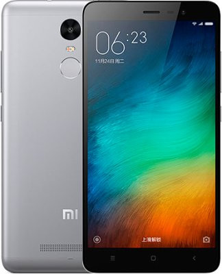 Смартфон Xiaomi Redmi Note 3 16GB (Gray) Global Rom