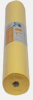 Простынь одноразовая Etto в рулоне, СМС (уплотненный спандбонд) 0,8х100 м., перфорация 2 м, желтый