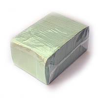 Нагрудники (Салфетки) зеленые 2-х слойные водонепроницаемые 500шт Unident