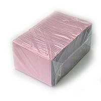 Нагрудники (Салфетки) розовые 2-х слойные водонепроницаемые 500шт Unident