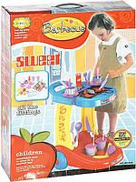 Детский Кухонный столик 62008 с посудой 43*15*57 см