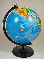 Глобус физический, диаметр 220 мм На Украинском
