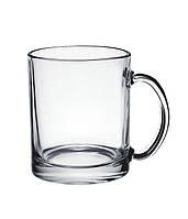 Кружка  стекло, евроцилиндр 320 мл