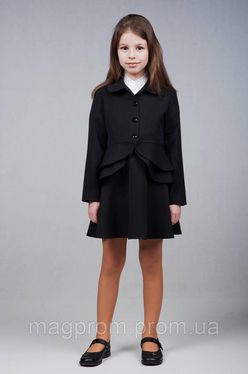 Пиджак школьный для девочек, размеры 28, 30, 32, 34, 36. (П-60)Размеры уточняйте!, фото 1