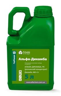 Гербицид Альфа-Дикамба  (Банвел) - Дикамби диметиламинная соль 480 г/л, злакові та кукуруза