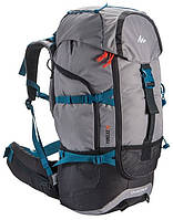 Практичный рюкзак для путешествий  50 л. QUECHUA FORCLAZ 1809066 серый графит