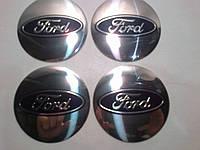 Наклейка выпуклая на колпачок диска Ford 56 мм