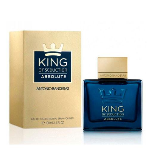 Antonio Banderas King of Seduction Absolute for Men туалетная вода мужская 100 ml