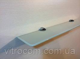 Полку 4 мм скляна пряма бежева 50х10 см