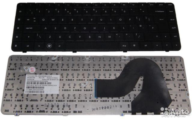 Клавиатура для ноутбука HP (Presario: CQ56, CQ62, G56, G62) rus, black