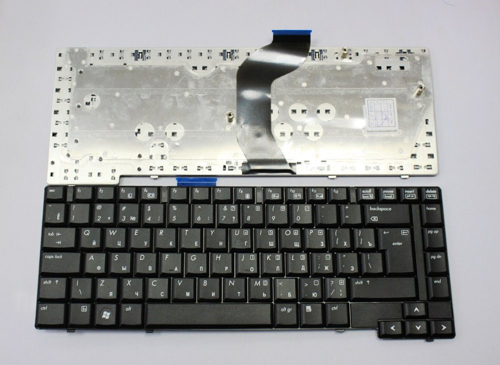 Клавиатура для ноутбука HP (Compaq: 6530b, 6535b) rus, black