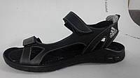 Мужские сандалии спортивные Adidas (Черный), фото 1