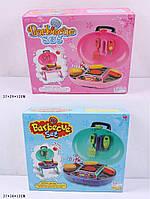 Детское барбекю с лопаткой и щипцами QF2010B/QF2010A с музыкой, на батарейках