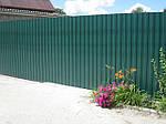 Забор из профнастила – надежно, качественно, недорого !