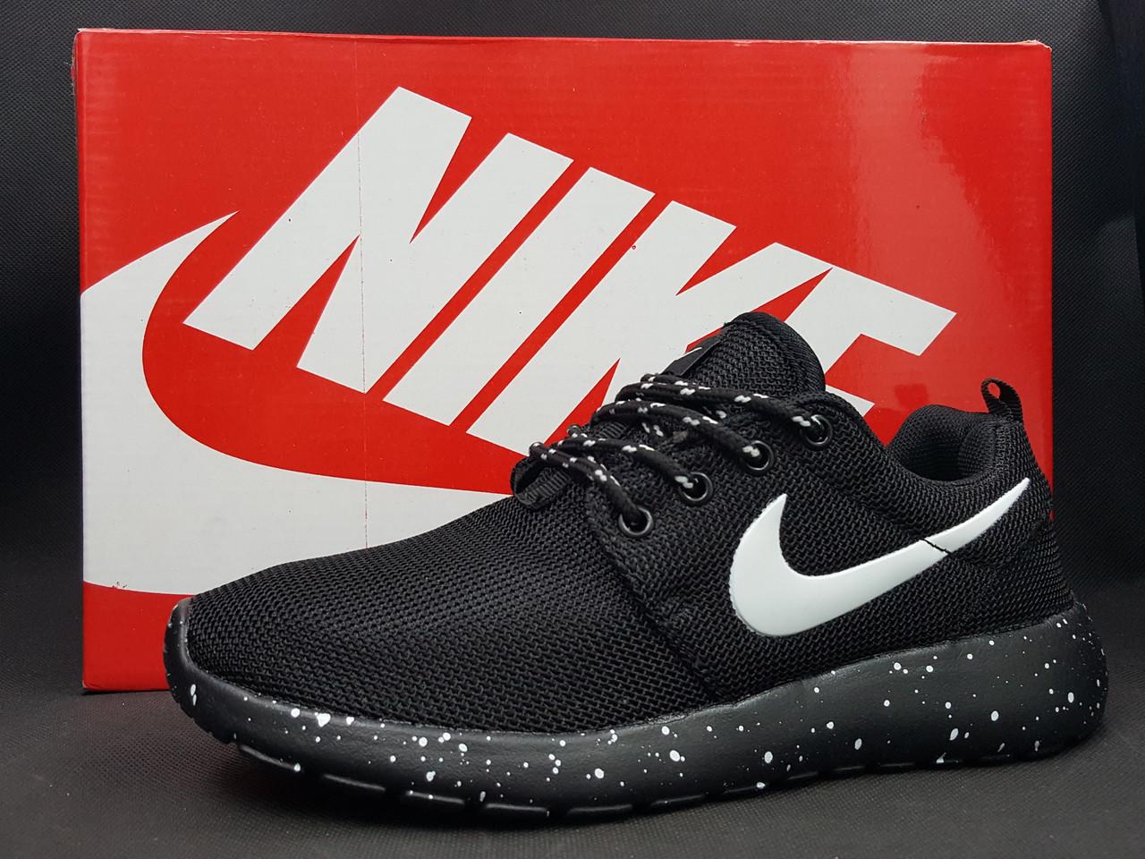 "Кроссовки Nike ""Roshe RUN"", цвет черный"