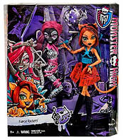 Куклы Monster High Fierce Rockers Catty Noir and Toralei Кэтти Нуар и Торалей Рокерши